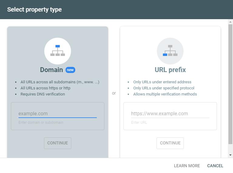 Domain and Pre-fix URL