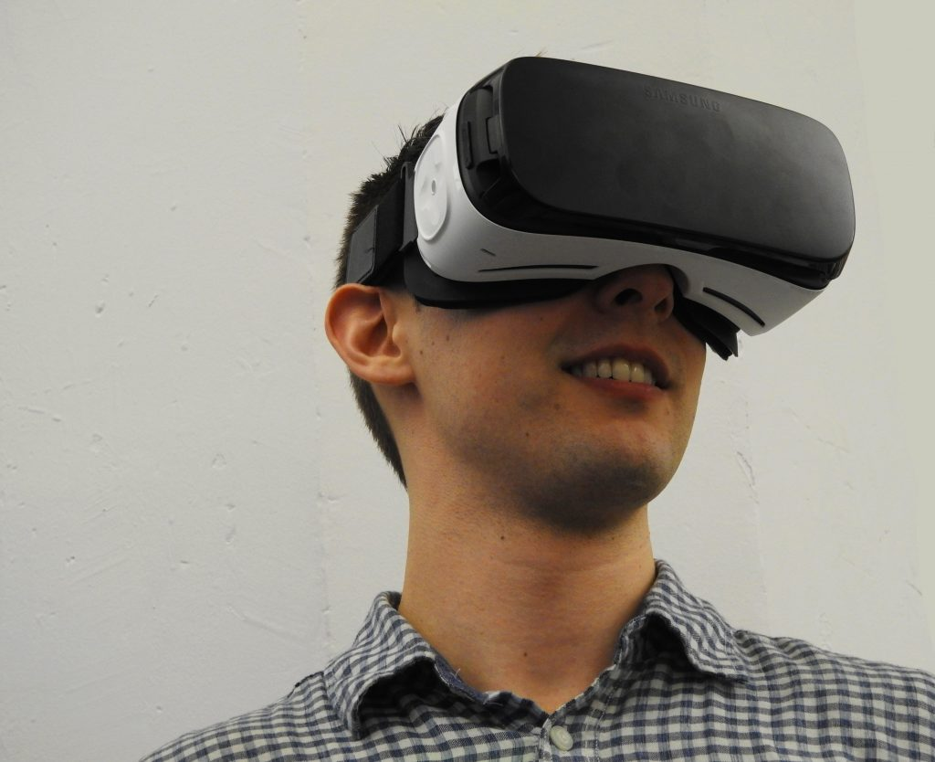 Virtual reality by Facebook