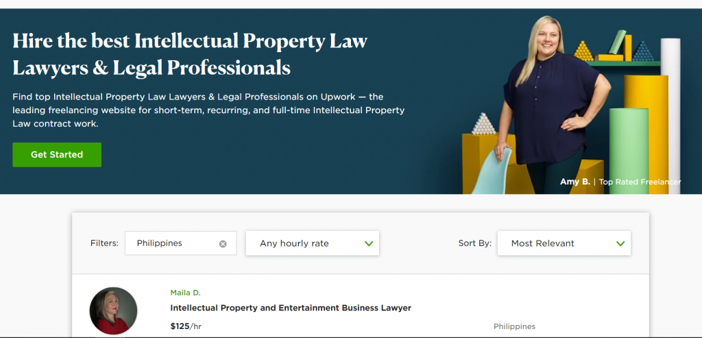 Freelance lawyers and legal professionals