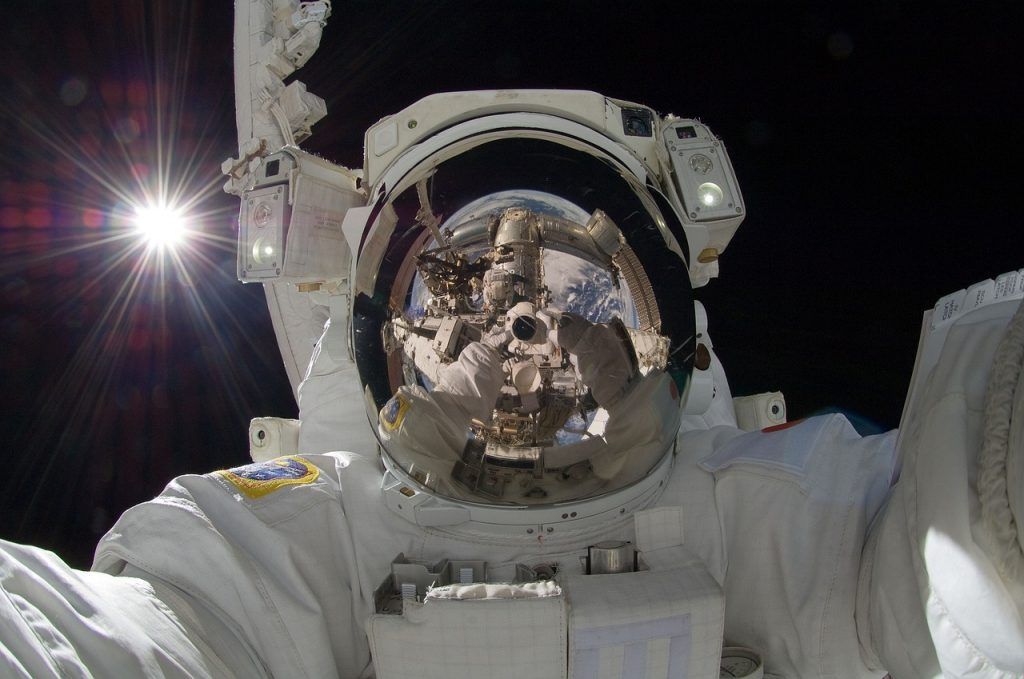 Out of this world selfie