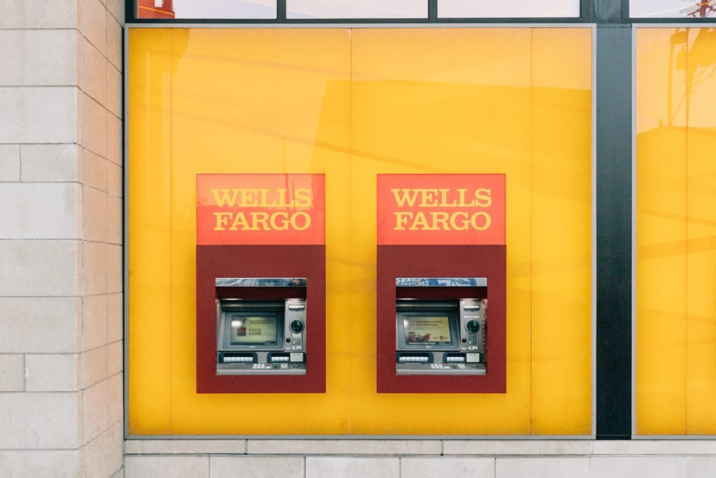 Wells Fargo ATM machine